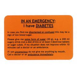 Tessera diabete