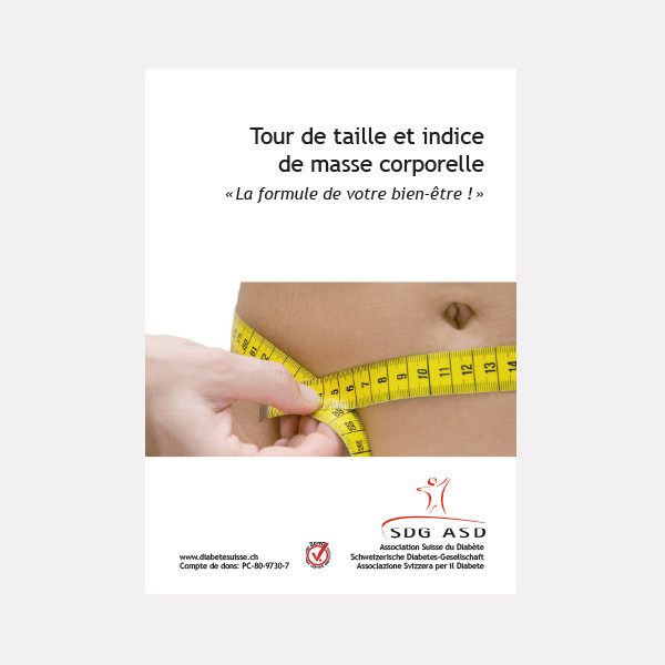 Tour de taille et indice de masse corporelle