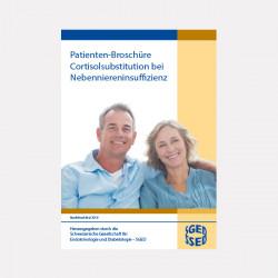 Patienten-Broschüre Cortisolsubstitution bei Nebenniereninsuffizienz