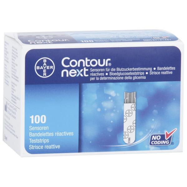 Bayer Contour® next - Teststreifen 100 Stk.