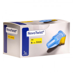 NovoTwist® 30G, 8mm - aiguilles pour stylos