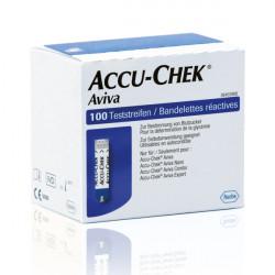 Accu-Chek® Aviva - bandelettes 100 pces