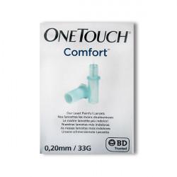 OneTouch® Comfort 0,20 mm (33 G) - lancettes