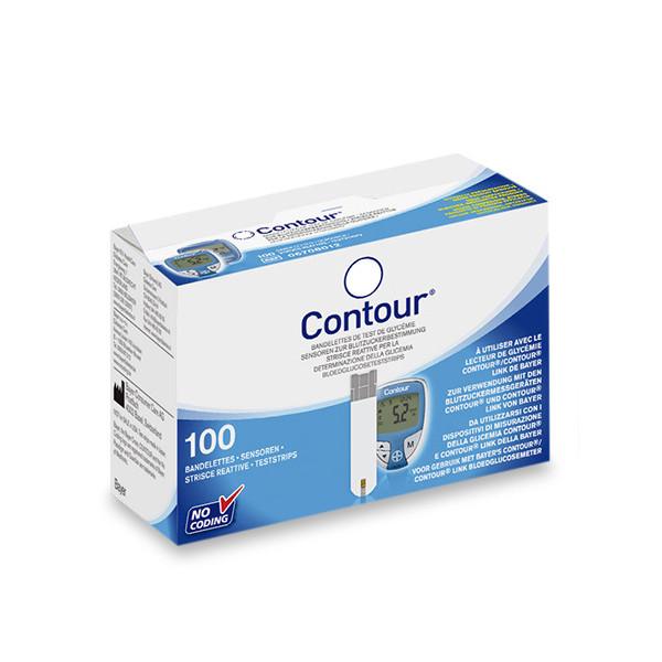 Bayer Contour® - Teststreifen 100 Stk.