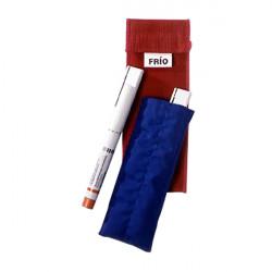 Frío sac double bleu, 8 x 18 cm
