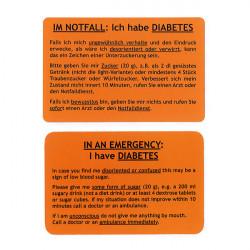 Carte diabète