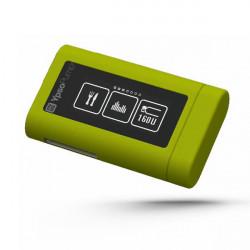 mylife YpsoPump Cover in silicone verde con clip