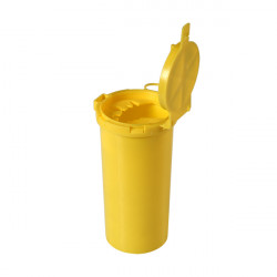 Box di smaltimento, giallo