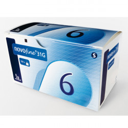 NovoFine® (31G), 6 mm - aiguilles pour stylos