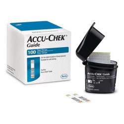Accu-Chek® Guide - bandelettes 100 pces