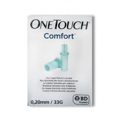 OneTouch® Comfort 0,20 mm (33 G) - lancettes