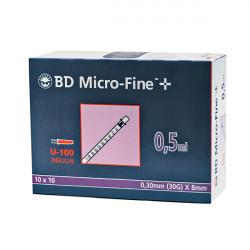 BD Micro-Fine™+ 0.5/8 - Spritzen