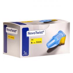 NovoTwist® 30G, 8mm - Pennadeln