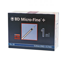 BD Micro-Fine™+ 1.0/12.7 - seringues